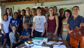 Gruppenfoto des RightSeeds Workshops mit MASIPAG in den Philippinen