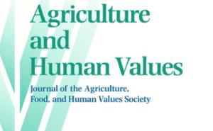 Agricultureandhumanvalues